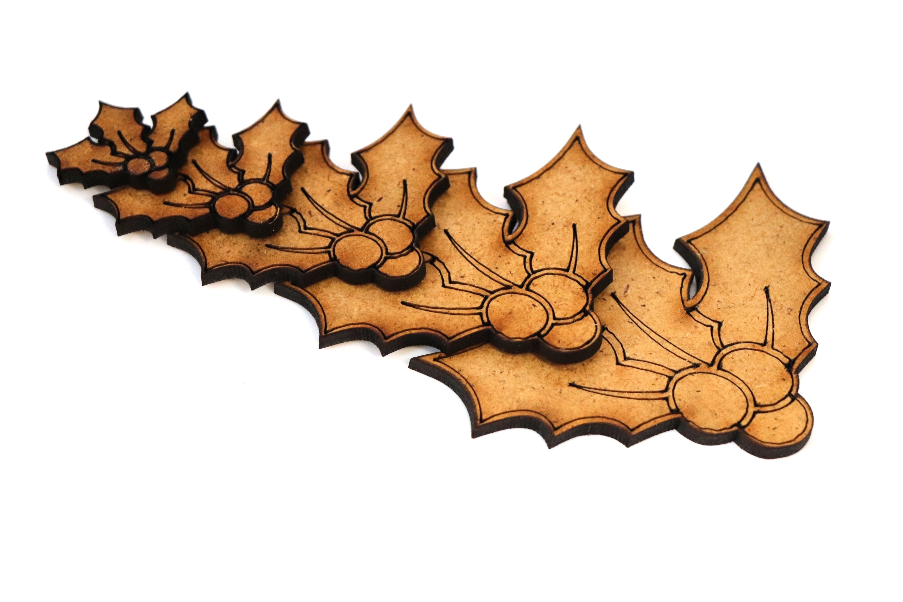 BR-Crafts Animal MDF Shapes Holly