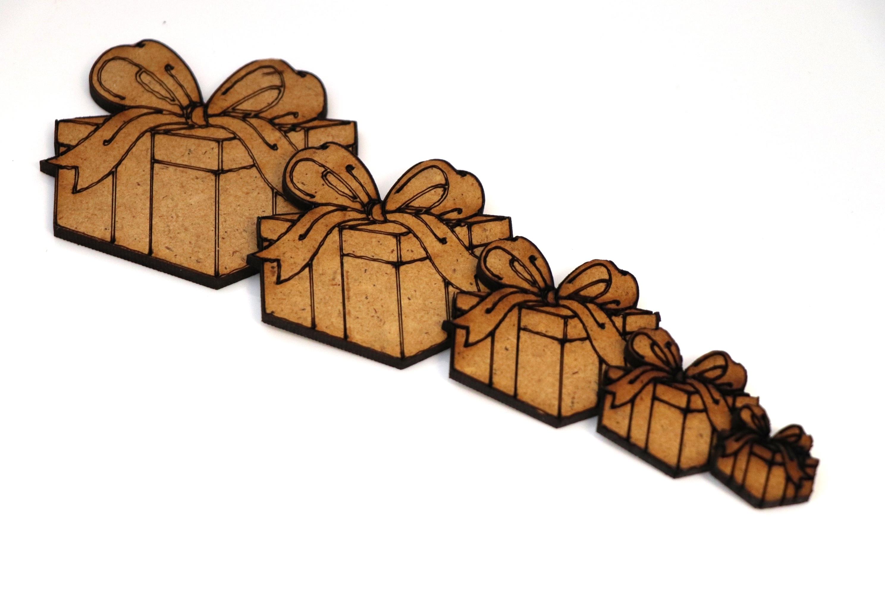 BR-Crafts MDF Christmas Present