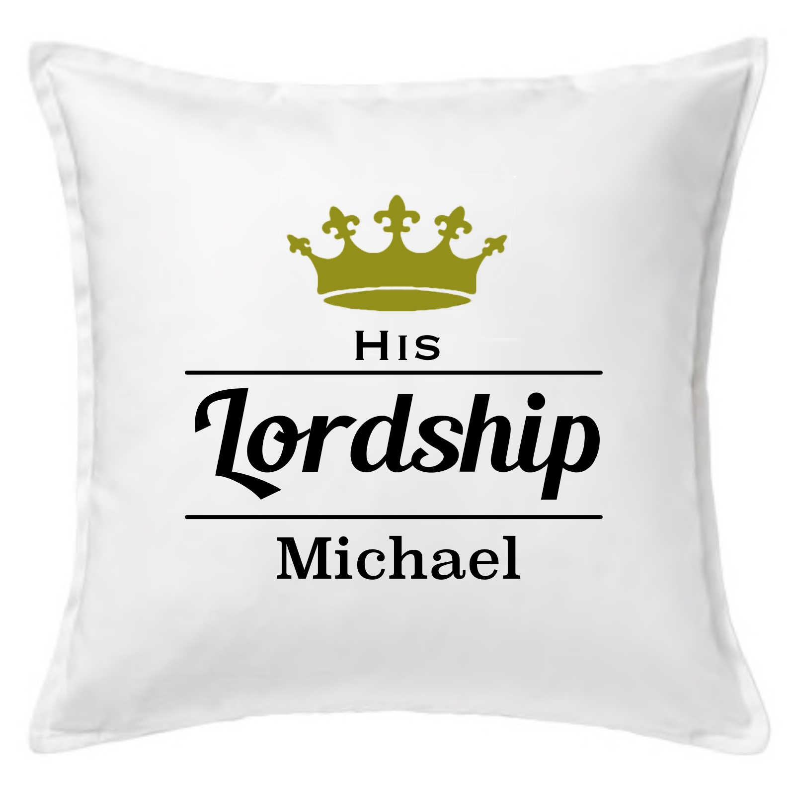His Lordship Cushion Cover