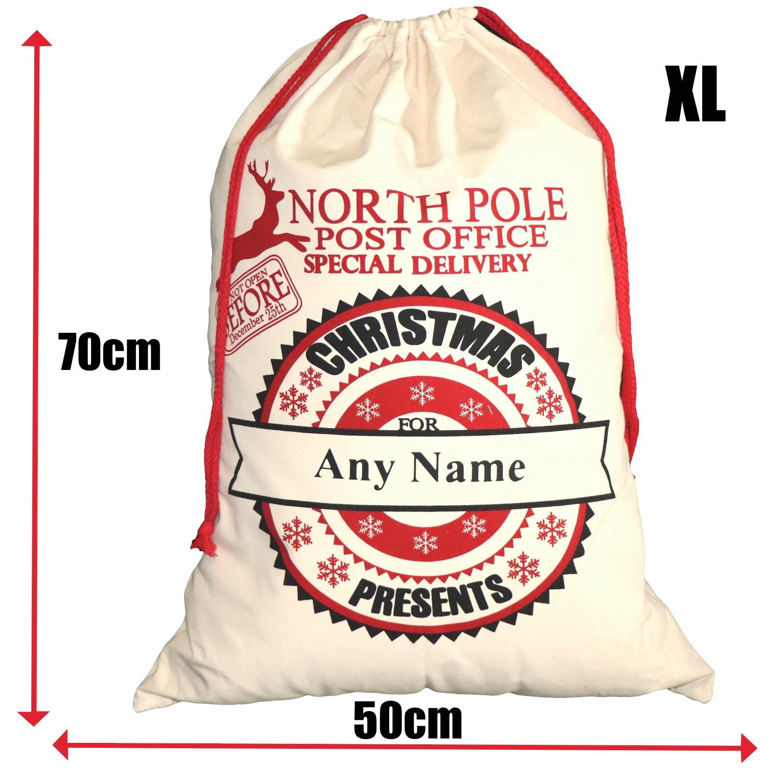 BR-Crafts North Pole Express Sacks